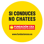 Si conduces, no chatees