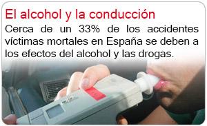El alcohol y la conducción