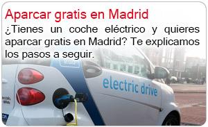 Aparcar gratis en Madrid