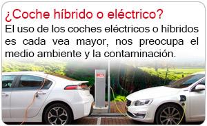 ¿Coche híbrido o eléctrico?