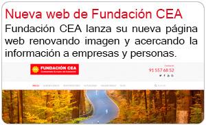 Nueva web de Fundación CEA