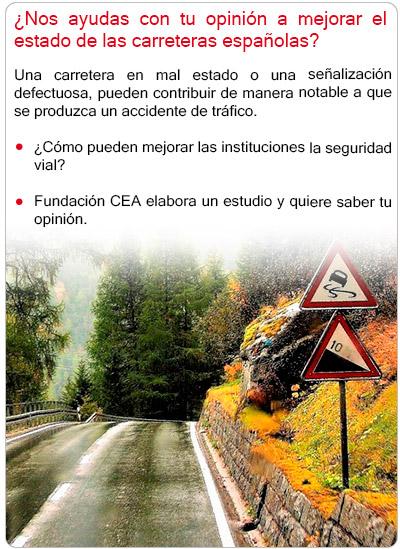 Fundación CEA contribuye a mejorar el estado de las carreteras