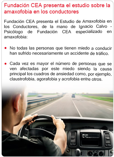 Fundación CEA presenta el estudio sobre la amaxofobia en los conductores
