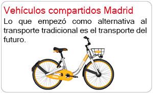 Vehículos compartidos Madrid