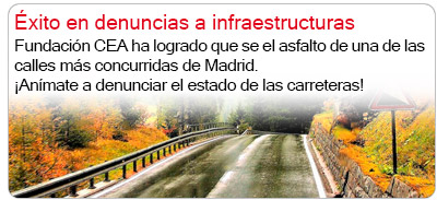 Éxito en infraestructuras